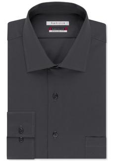 Van Heusen Men's Classic-Fit Wrinkle Free Flex Collar Solid Dress Shirt