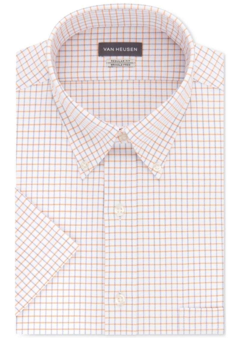 dab0e7313ca Van Heusen Regular Fit Long Sleeve Dress Shirt ...
