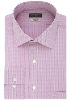 Van Heusen Men's Classic/Regular Fit Flex Collar Stretch Pattern Dress Shirt