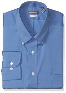 Van Heusen Men's Dress Shirt Regular Fit Non Iron Solid  3X-Large