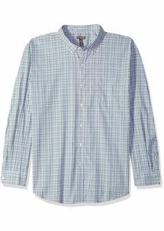 Van Heusen Men's Flex Long Sleeve Button Down Stretch Tattersal Shirt