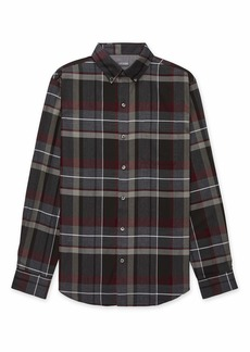 Van Heusen Men's Fit Flex Long Sleeve Stretch Button Down Shirt   Slim