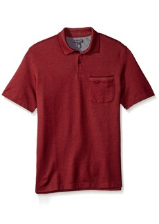 Van Heusen Men's Flex Short Sleeve Polo