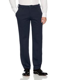 Van Heusen Men's Flex Straight Fit Flat Front X3 Knit Pant  34W X 30L