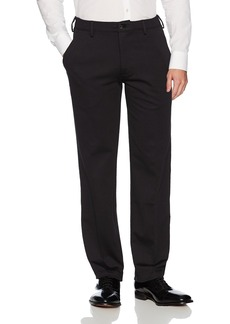 Van Heusen Men's Flex Straight Fit Flat Front X3 Knit Pant  36W X 30L