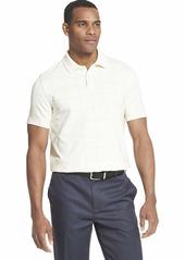 Van Heusen Men's Flex Stretch Windowpane Polo Shirt