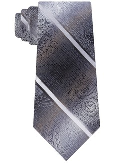 Van Heusen Men's Harvey Paisley Stripe Tie