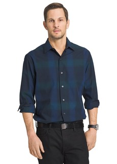 Van Heusen Men's Long Sleeve Engineer Shirt