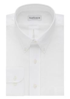 "Van Heusen Men's Long-Sleeve Oxford Dress Shirt  14.5"" Neck 32""-33"" Sleeve"