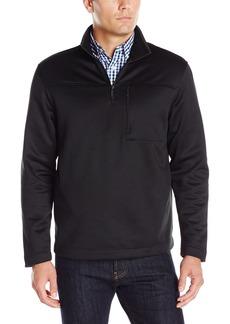 Van Heusen Men's Long Sleeve Traveler Solid 1/4 Zip Shirt