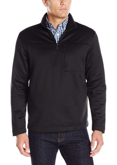 Van Heusen Men's Long Sleeve Traveler Solid 1/4 Zip Shirt