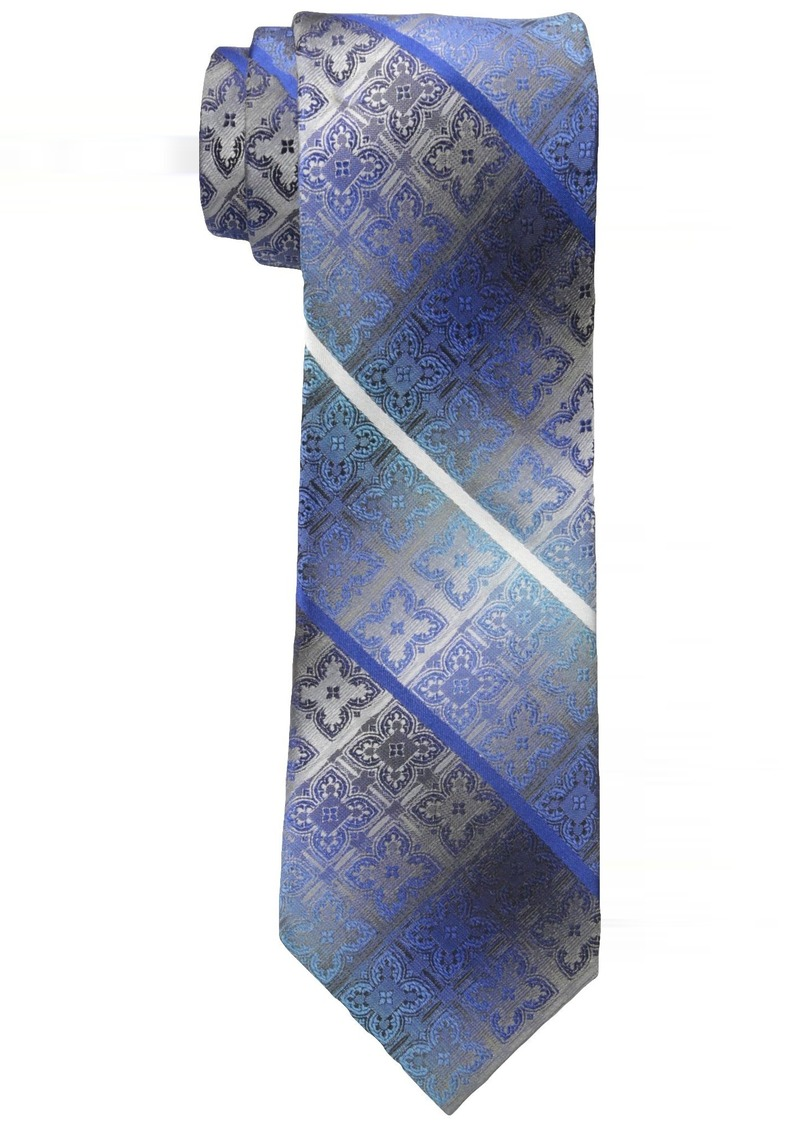 Van Heusen Men's Medallion Ombre Stripe Tie