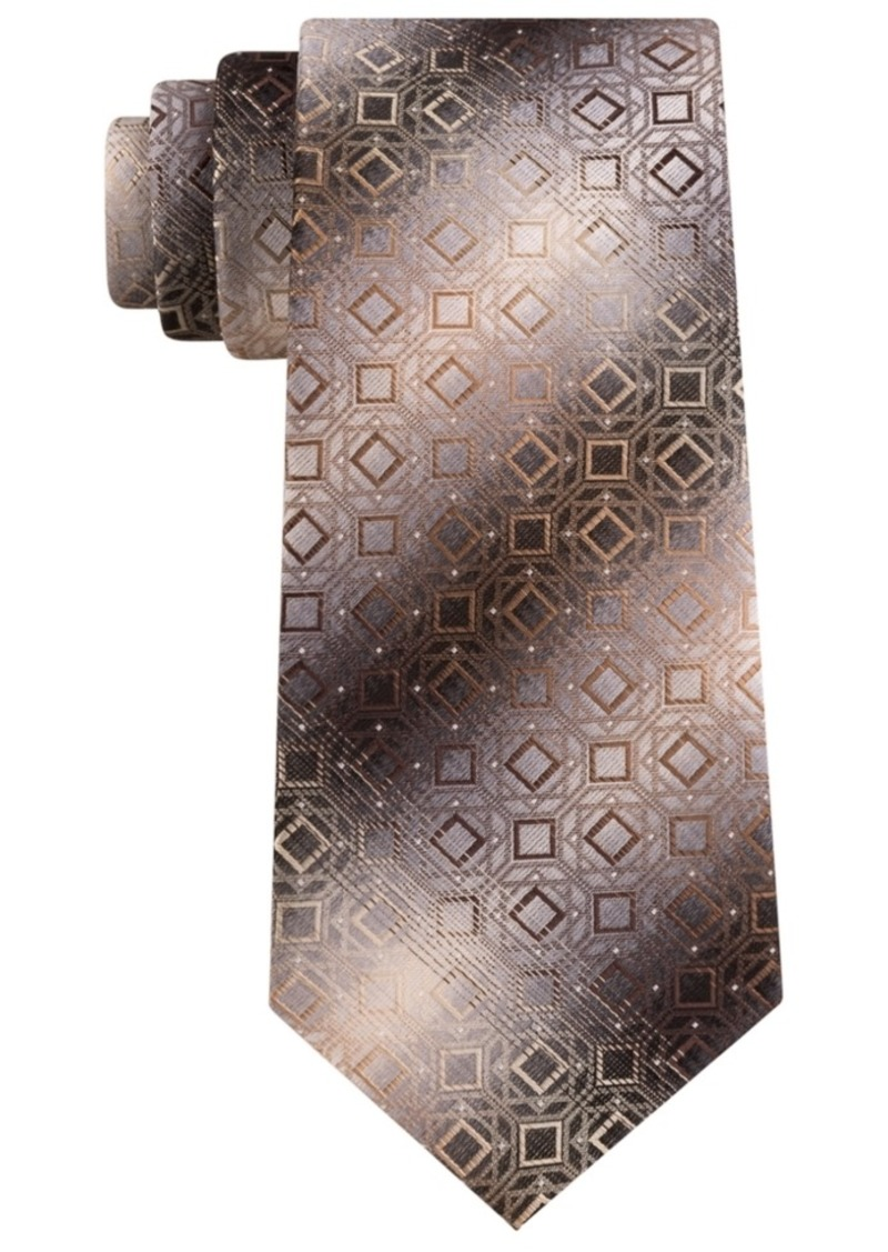 Van Heusen Men's Milstreet Classic Geometric Stripe Tie