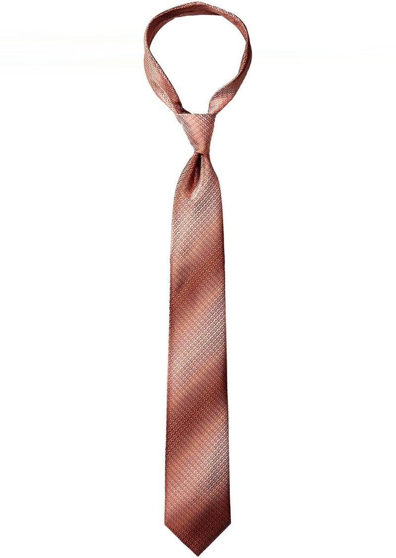 Van Heusen Men's Perfect Zig Unsolid Solid Tie Right