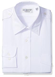 """Van Heusen Men's Pilot Dress Shirt Long Aviator  15.5"""" Neck 32""""-33"""" Sleeve"""