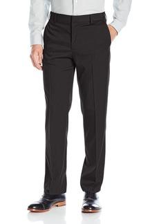 Van Heusen Men's Premium No Iron Straight Solid Fit Flat Front Pant