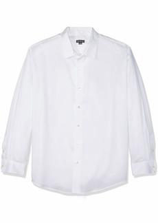 Van Heusen Men's Sateen Stripe Long Sleeve Button Down