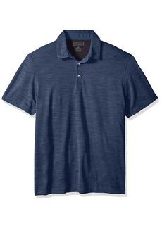 Van Heusen Men's Short Sleeve Air Performance Space Dye Polo Shirt