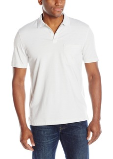 Van Heusen Men's Short Sleeve Feeder Stripe Polo Shirt