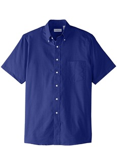 Van Heusen Men's Short Sleeve Oxford Dress Shirt