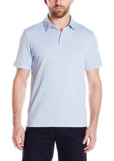 Van Heusen Men's Short-Sleeve Traveler Polo Shirt Deep White Bright White
