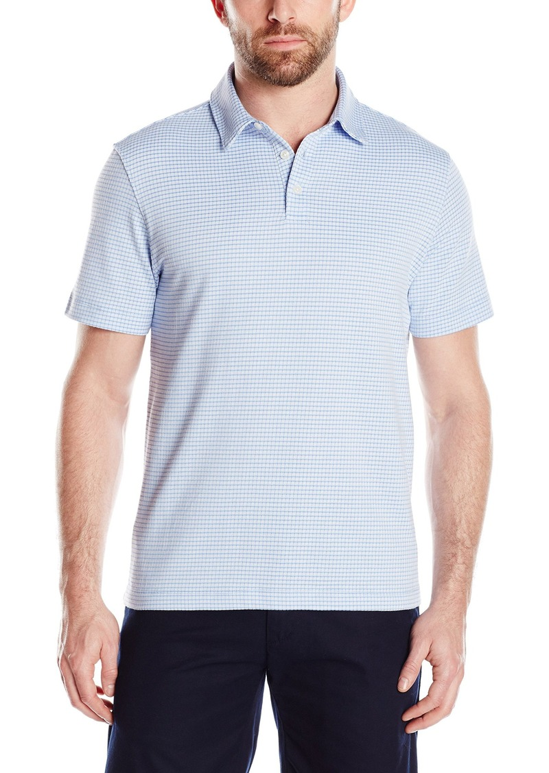 Van Heusen Men's Short-Sleeve Traveler Polo Shirt
