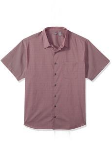 Van Heusen Men's Size Big Flex Stretch Short Sleeve Non Iron Shirt  3X-Large Tall