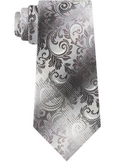 Van Heusen Men's Skinny Ombre Paisley Tie