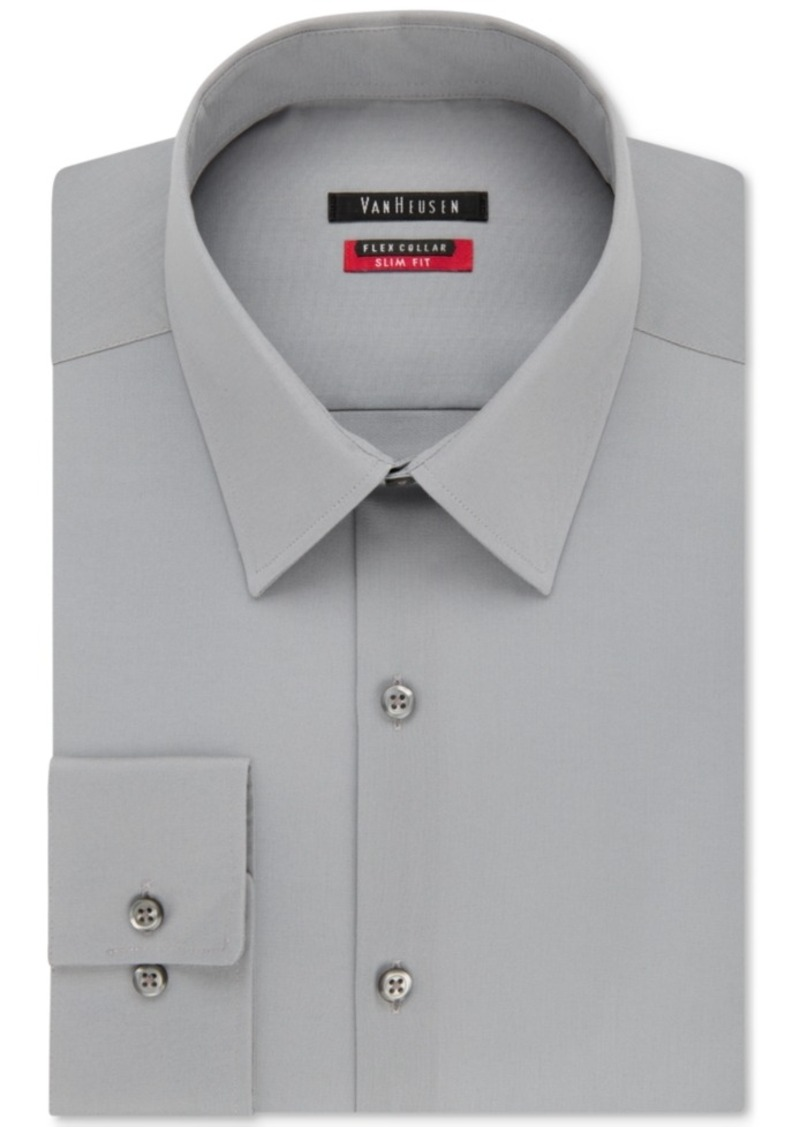 Van Heusen Van Heusen Mens Slim Fit Flex Collar Twill Dress Shirt