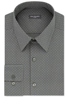 Van Heusen Mens Slim-Fit Micro Houndstooth Dress Shirt