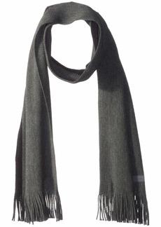 Van Heusen Men's Stripe Scarf cool gray