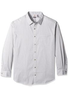 Van Heusen Men's Tall Size Big Traveler Stretch Long Sleeve Non Iron Shirt