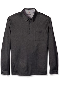 Van Heusen Men's Tall Traveler Knit Button Down Long Sleeve Shirt  ig