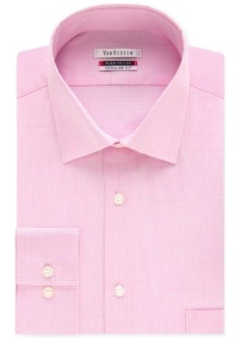 Van heusen van heusen men 39 s tek fit flex collar bright for Van heusen shirts flex collar
