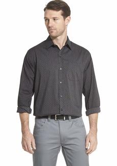 Van Heusen Men's Traveler Stretch Long Sleeve Button Down  Shirt