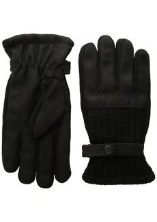 Van Heusen Men's Woolen Knit Glove Accessory -black