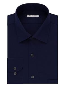 Van Heusen Wrinkle-Free Cotton Dress Shirt