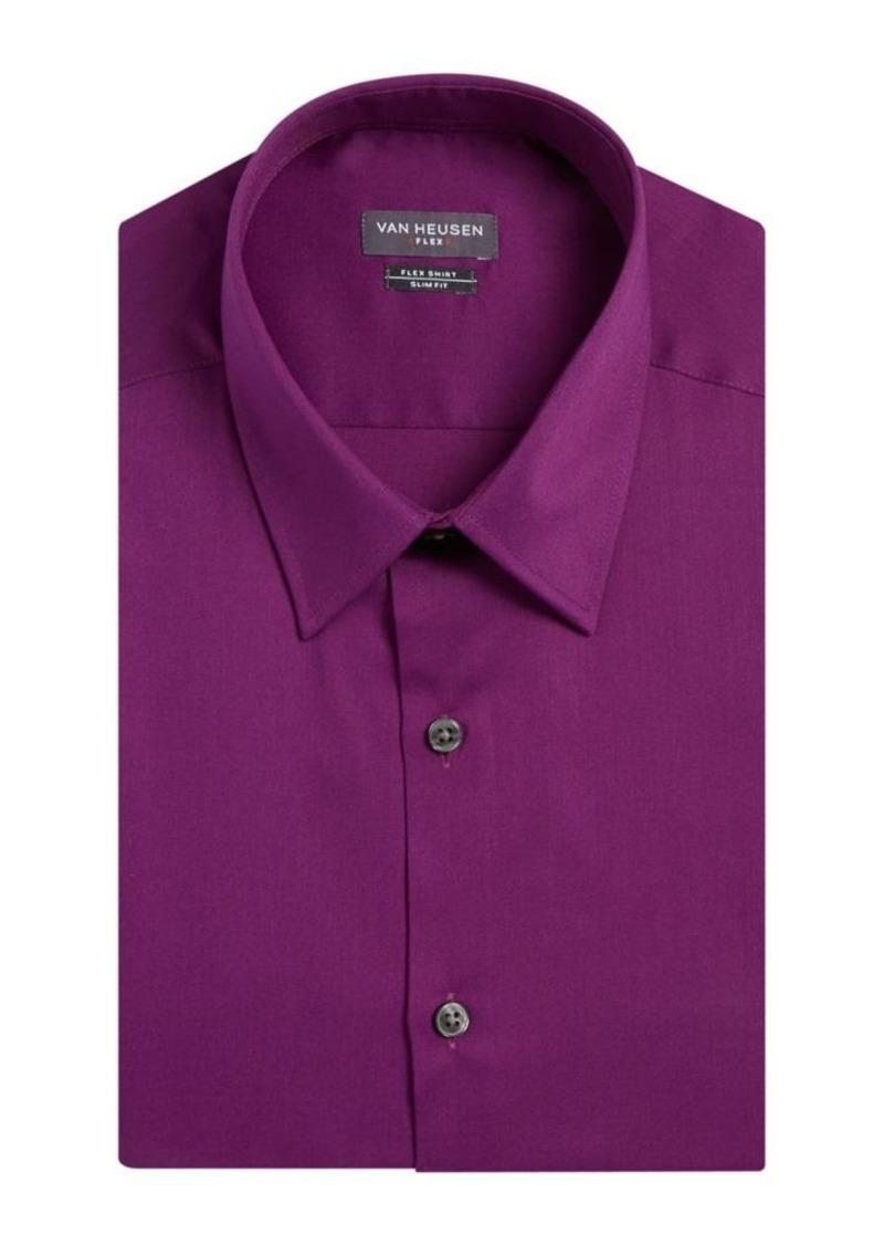 On sale today van heusen van heusen regular fit cotton for Van heusen men s regular fit pincord dress shirt