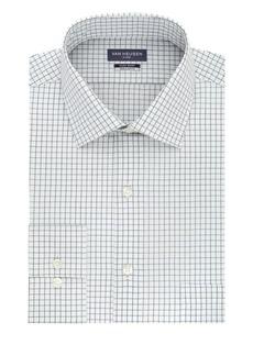 Van Heusen Regular Tek Fit Evergreen Dress Shirt