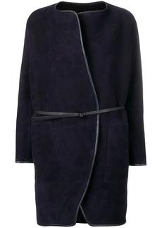 Vanessa Bruno belted shearling coat