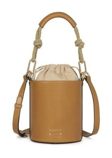 Vanessa Bruno Calfskin Leather mini Holly bucket bag
