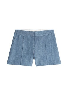 Vanessa Bruno Chambray Shorts