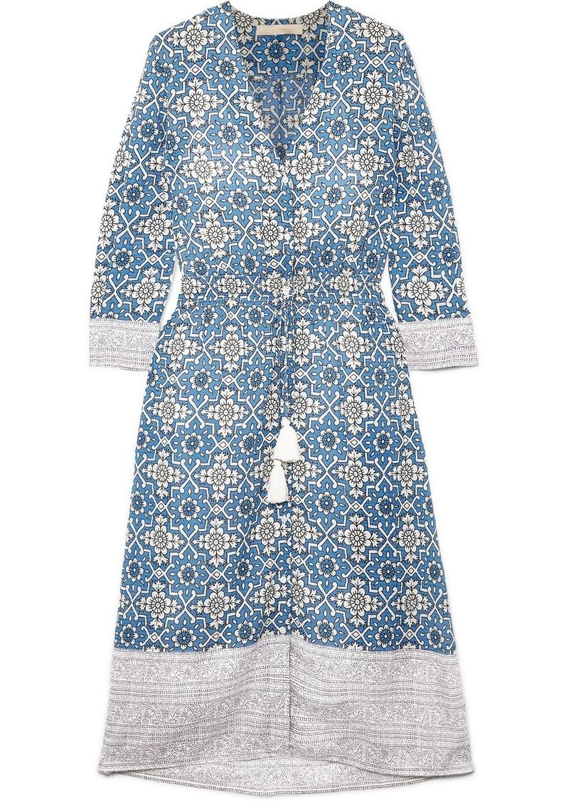 Vanessa Bruno Ilko Floral-print Voile Midi Dress
