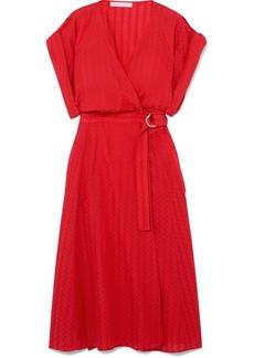 Vanessa Bruno Iron Jacquard Wrap Dress