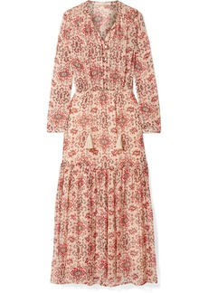 Vanessa Bruno Jelyssa Printed Silk-crepon Maxi Dress