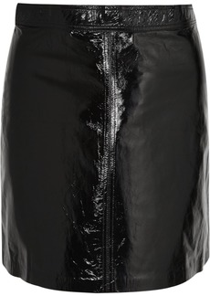 Vanessa Bruno Juna Patent-leather Mini Skirt
