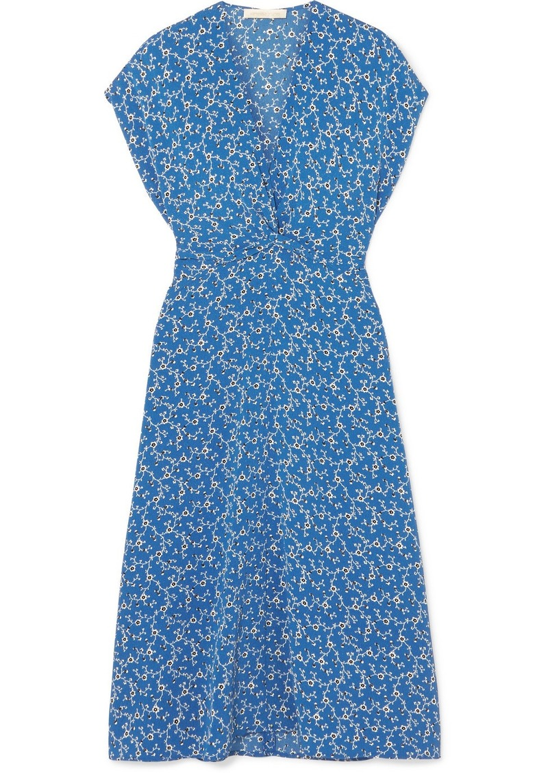 Vanessa Bruno Lona Floral-print Cloqué Dress