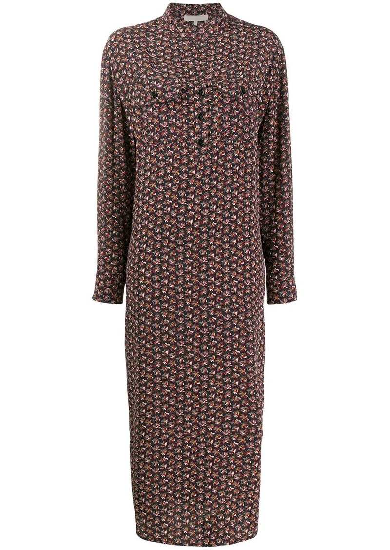 Vanessa Bruno Maori printed midi dress