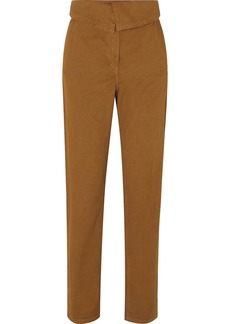 Vanessa Bruno Marx Stretch Cotton-twill Tapered Pants