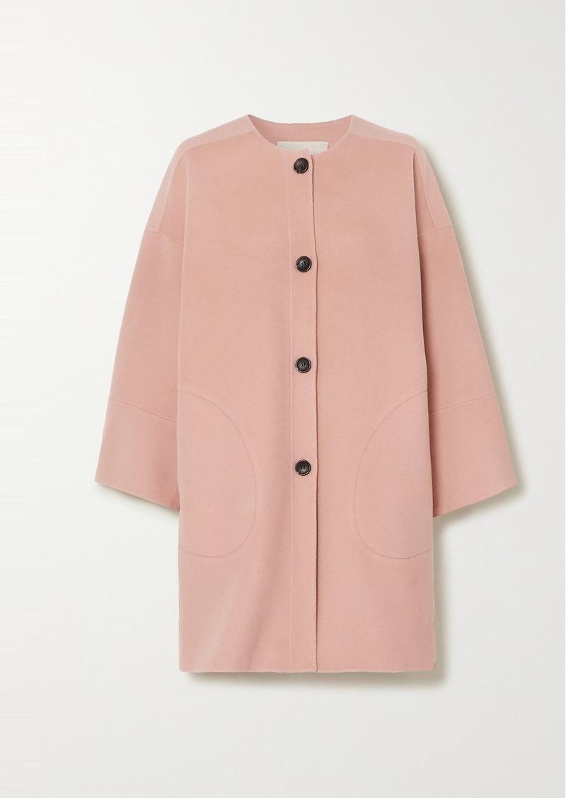 Vanessa Bruno Nash Wool And Cashmere-blend Felt Coat